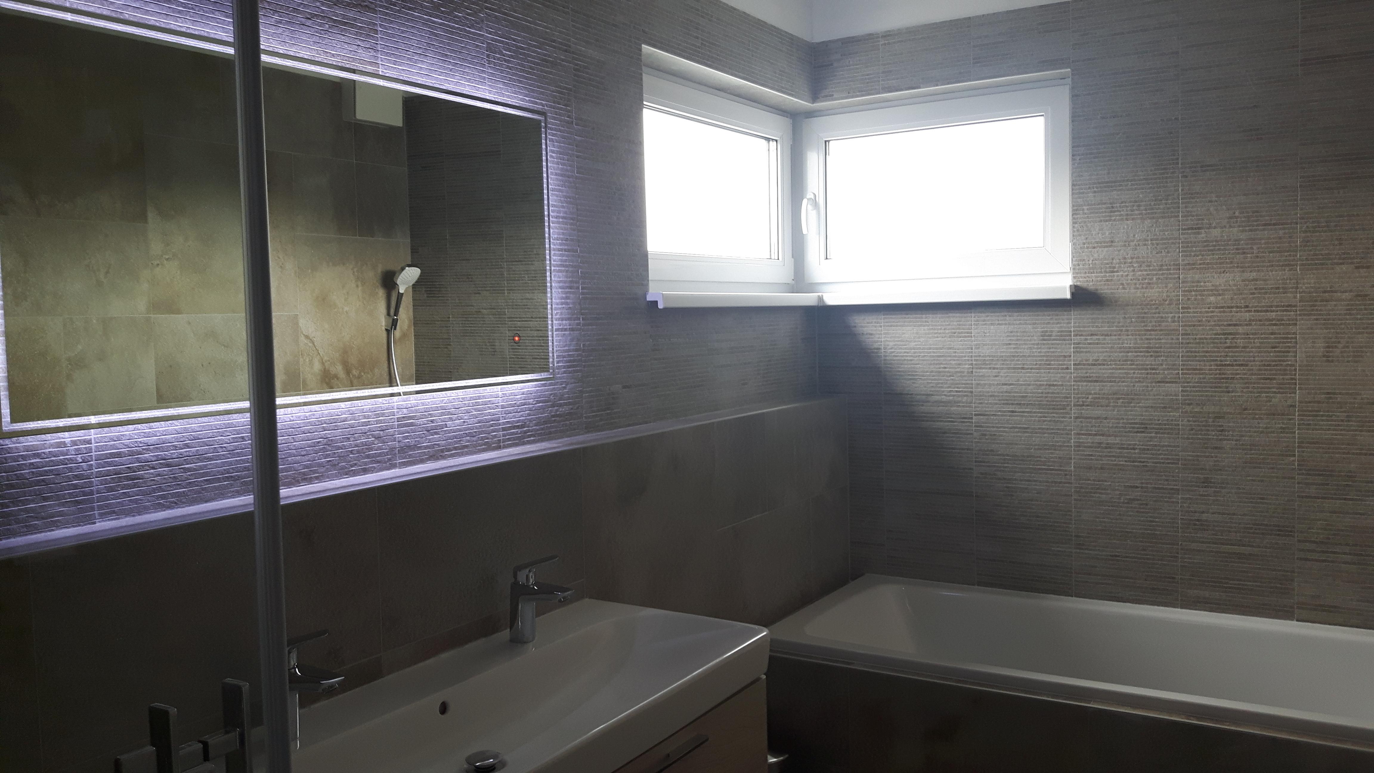 Twilight zrkadlo s led osvetlením