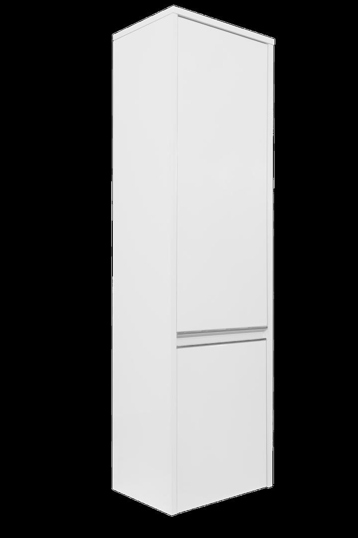 Charm vysoká skrinka  biela lesklá